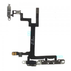 iPhone 5 - Power + Volume Flex Cable With Plates
