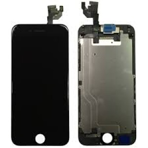 iPhone 6 – LCD Digitizer (original remaded) Full assembled Black