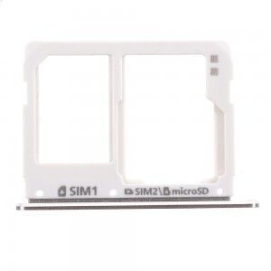 Samsung Galaxy A310 A510 A710 - SIM Card and SD Tray Holder White