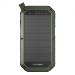 Power Bank Eshine Outdoor Solar With LED - 8000mAh