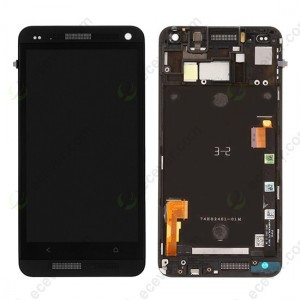 HTC One M7 Mini M4 - Full Front LCD Digitizer with Frame Black