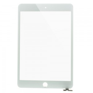 iPad Mini 3 - Front Glass Digitizer with IC White