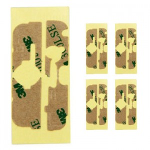 iPhone 4G - Set of 5 Adhesive Stickers 3M