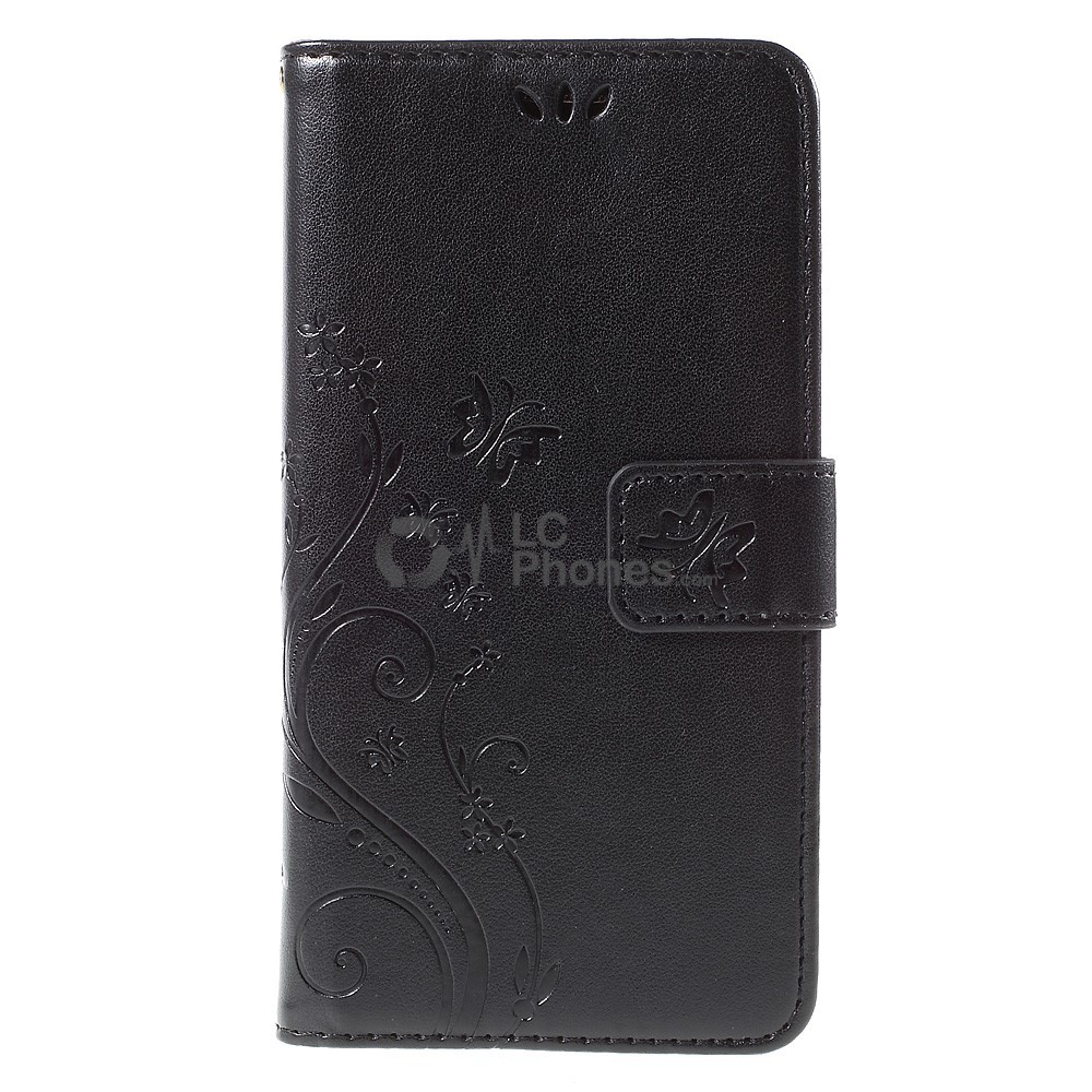 Samsung Grand Prime G530 - Butterfly Wallet Leather Case