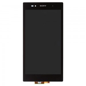 Xperia Z Ultra XL39H C6802 C6806 C6833 C6843 - Full Front LCD Digitizer Black