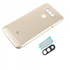 LG G5 - Back Cover Full Assembled With Camera Lens Gold