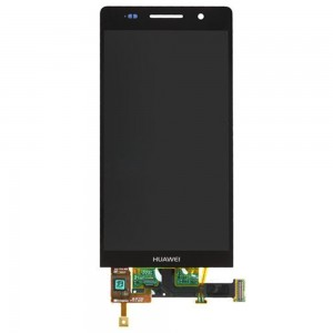 Huawei Ascend P6 - Full Front LCD Digitizer Black