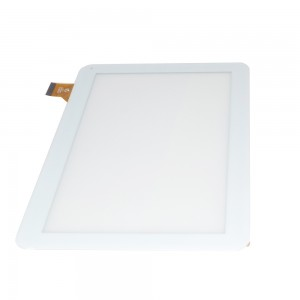 Universal 10.1 inch 45 Pins QX20150907 HK10DR2537 - Front Glass Digitizer White