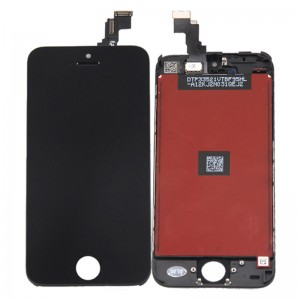 iPhone 5C - LCD Digitizer (original remaded) Black