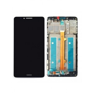 Huawei Ascend Mate 7 - Full Front LCD Digitizer With Frame Black