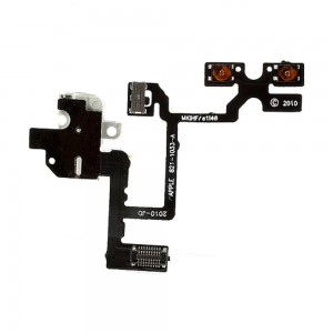 iPhone 4G - Volume/Jack Flex Cable White