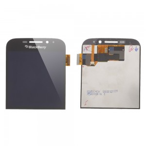 Blackberry Q20 - Full Front LCD Digitizer Black