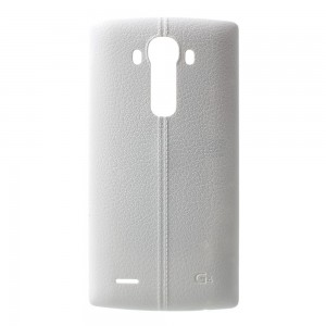 LG G4 H815 H810 H811 - Battery Cover Leather White