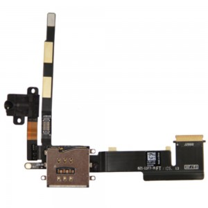 iPad 2 - Earphone Flex Cable with SIM Reader