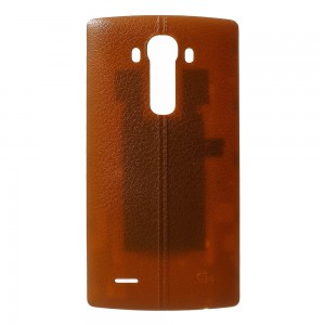 LG G4 H815 H810 H811 - Battery Cover Leather Brown