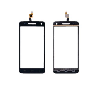 Wiko Rainbow 4G - Front Glass Digitizer Black