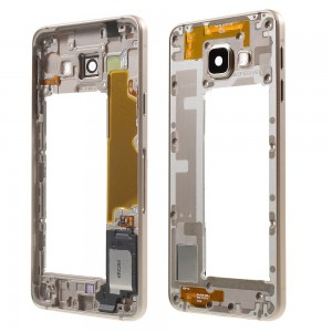 Samsung Galaxy A3 2016 A310 - Chassis Middle Frame Gold