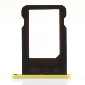 iPhone 5C - SIM Card Tray Holder Yellow
