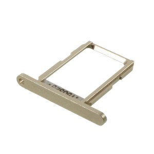 Samsung Galaxy S6 G920 - SIM Card Tray Holder Gold