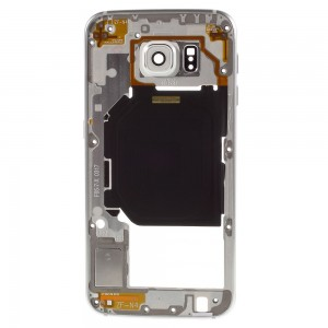 Samsung Galaxy S6 G920 - Middle Frame White