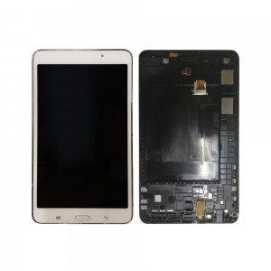 Samsung Galaxy Tab 4 7.0 T230 - Full Front LCD Digitizer With Frame White