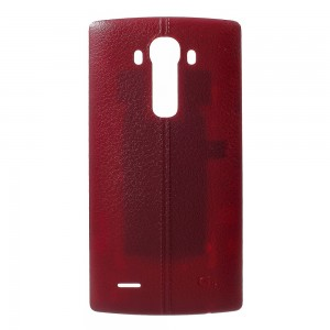 LG G4 H815 H810 H811 - Battery Cover Leather Red