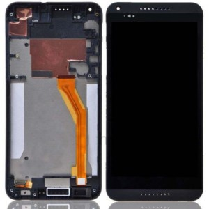 HTC Desire 816 - Full Front LCD Digitizer with Frame Black
