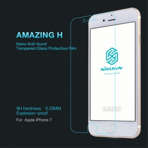 iPhone 7 - NillKin Tempered Glass Screen Protector Amazing H