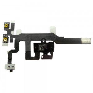 iPhone 4S - Volume/Jack Flex Cable  Black