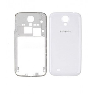 Samsung Galaxy S4 I9505 - Middle Frame + Battery Cover White