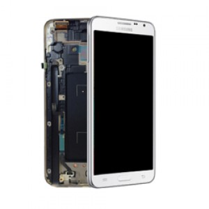 Samsung Note 3 Neo N7505 - Full Front LCD Digitizer With Frame White