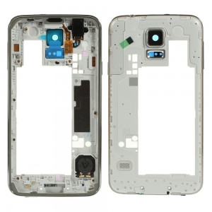 Samsung Galaxy S5 G900F - Middle Frame Complete Gold Rev 0.3