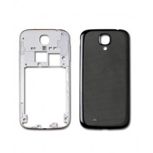 Samsung Galaxy S4 I9505 - Middle Frame + Battery Cover Blue