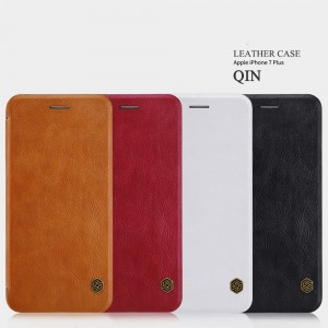 iPhone 7 Plus - NILLKIN Qin Leather Case