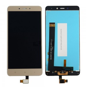 Xiaomi Redmi Note 4 - Full Front LCD Digitizer Gold