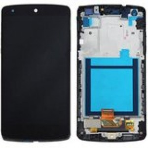 LG Nexus 5 D820/D821 - Full Front LCD Digitizer With Frame Black