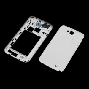 Samsung Note 2 N7100 - Middle Frame + Battery Cover White