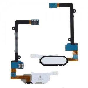 Samsung Galaxy Note Edge SM-N915 - Home Button Flex Cable White