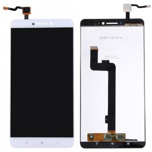 Xiaomi MAX - Full Front LCD Digitizer White