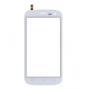Wiko Darknight - Front Glass Digitizer White