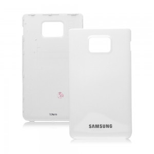 Samsung Galaxy S2 I9100 - Battery Cover  White