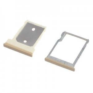 HTC One M9 - SIM Card and Micro SD Tray Holder Champagne
