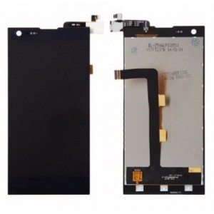 THL T100S - Full Front LCD Digitizer Black