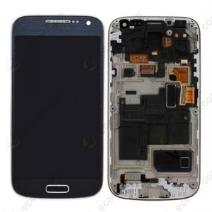 Samsung Galaxy S4 Mini I9195 - Full Front LCD Digitizer With Frame Black ( Refurbished )
