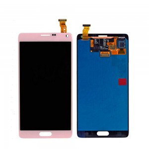 Samsung Note 4 N910F - Full Front LCD Digitizer Pink