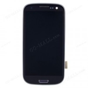 Samsung Galaxy S3 I9305 - Full Front LCD Digitizer Black ( Refurbished )