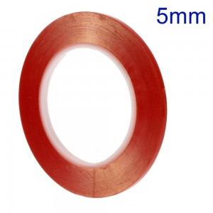 5mm x 25m Double-sided Clear Adhesive Sticker Tape