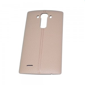 LG G4 H815 H810 H811 - Battery Cover Leather Pink