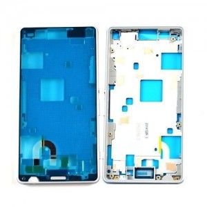 Sony Xperia Z3 Compact D5803, D5833 - Middle frame White