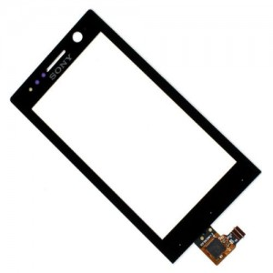 Sony Xperia U ST25 - Front Glass  Digitizer Black